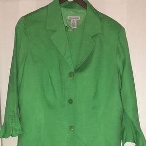 JessicaLondon Green2Piece Blazer&Sleeveless Dress